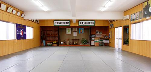 太極武道館 道場内